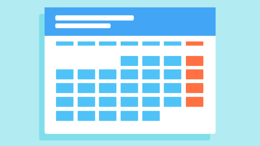 Customize Google Calendar to make it easy to see and A4-size printer-friendly