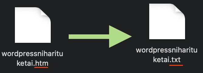 Excel_to_WordPress_htm_to_txt
